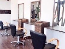 ヘアーデザイン アクトレス Hair Designs ACTRESSの雰囲気(広々とした店内でのんびりお寛ぎください―…。)