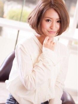 イースタイル 豊川店(e-style)の写真/【豊川】TOPスタイリストたちが創る、どこから見てもキレイなシルエット。どんなスタイルでもまとまる◎
