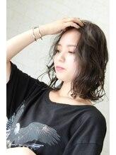 マティーナ ヘアー 池袋(Matina hair)【かきあげ前髪☆ウェイビーミディ】 Matinahair