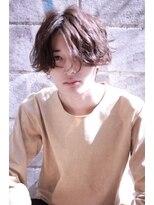 ☆スタイル☆ LIBERTEメンズ×長髪センターブラウン