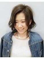エイム ヘアメイク 横川店(eim HAIR MAKE)eim で叶える♪mix巻きがかわいい☆愛されフェミニンボブ