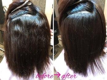 エノア 柏(ENORE)の写真/【ENOREオリジナル弱酸性縮毛矯正】あなたの髪のお悩み聞かせてください!今までにない、肌触り、うるツヤへ