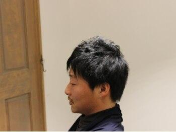アクロヘアルーム(acro hair room)の写真/男性オーナーによる計算されたデザインで仕事やプライベートでも褒めらるスタイルを!女性からも好印象◎