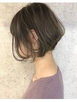 キアラ(Kchiara)柔らかい印象の大人前下がりボブ/kchiara福岡/川野直人