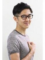 フリリ 新宿(Hulili men's hair salon)スタイリング簡単、軽さを活かした2ブロックショート