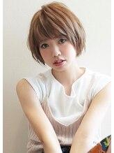 アグ ヘアー カティー ひばりヶ丘店(Agu hair cutty)《Agu hair》大人かわいいひし形前下がりショート