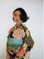 ファルコヘア 立川店(FALCO hair)セット&お着物