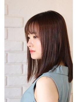ヘアーアートスパミニマム(HAIR ART SPA MINIMUM)の写真/《SNS・雑誌等で話題沸騰中♪》TOKIO/フローディアトリートメント取扱◎うるツヤ美髪で立体感のあるStyleに
