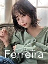 【Ferreira】は前髪にもオシャレにこだわります!!