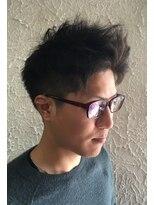 ヘアーメイクサロンアカイシ(hairmake salon AKAISHI)バングアップ2ブロック