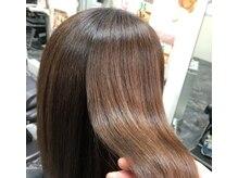ヘア メイク ヤマザキ(hair make YAMAZAKI)の雰囲気(弱酸性ストレートで自然な髪質に改善!ダメージレスです☆)