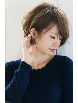 リル ヘアーデザイン(Rire hair design)【Rire-リル銀座-】美シルエット小顔耳かけショートボブ☆