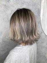ヘアサロン アティリー(Hair Salon Attirer)大人気コントラストバレイヤージュ