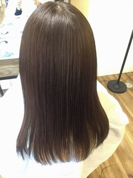 髪質改善ヘアエステサロン ルアナ(Luana)の写真/お手入れが楽でずっと触っていたくなる自然なストレートに♪