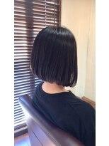 【ピカラ】インナーカラー黒髪ボブ