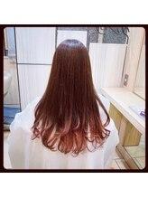美容室ラトリエ コモ 新所沢店グラデーションカラー