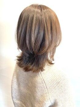 アヤナバイアヤラ 西船橋店(ayana by ayala)の写真/5月28日NEWOPEN◆柔らかな色味で上質な大人デザイン♪気になる髪のお悩みも隠すのではなく活かす提案が◎