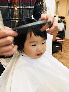 ヘアーハウス オハナ(Hair house Ohana)の写真/【キッズスペースあり】小さなお子様も大歓迎♪お子様でも楽しめる空間だから親子で充実したサロンtimeを☆
