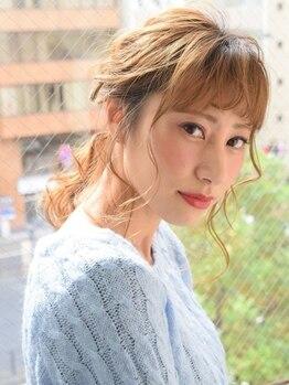 ハートボックス 四谷店(Heart box)の写真/学生限定クーポンあり☆今だからできるオシャレを!可愛く、そして綺麗な髪を手に入れるなら-Heart box-へ。