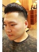 ディスパッチヘアー 甲子園店(DISPATCH HAIR)フェード ハード パートスタイル