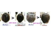 アンエドゥ(Un et Deux)の雰囲気(アミノ酸の力で髪質改善!アイロン不使用、NOブローの仕上がり)