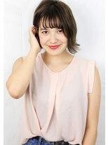 ヘアサロン ガリカ 表参道(hair salon Gallica)『グレージュ × 毛束感 』外国人風切りっぱなしボブスタイル☆