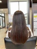 ヘアーアンドビューティ クアトロ 赤塚店 水戸(HAIR&BEAUTY QUATRO)★美髪ストレートヘア ♪