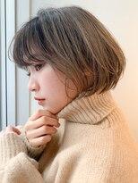 リップス 銀座店(LIPPS)【LIPPS銀座】(安田愛佳)ハイライト丸みレイヤーボブ