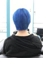 マーメイドヘアー(mermaid hair)manic panicブルー!