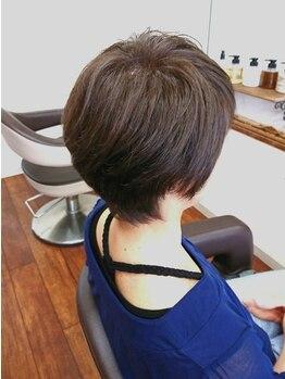 ヘアーアンドネイル フーガ(hair & nail fuga)の写真/癖毛・ボリュームが気になる方必見!ヘアリセッターとドライカットで髪のお悩みを解決し、扱いやすい髪に♪