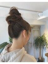 モイヘアーデザイン(moi hair design)おだんごアレンジ