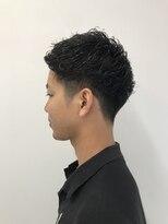 オクトーバー シュクガワラ(OCTOBER SHUKUGAWARA)メンズパーマスタイル