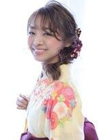 ヘアリゾート バレンタイン(hair+resort valentine)☆卒業式ヘアアレンジ☆卒業式やお着物に☆ヘアアレンジ
