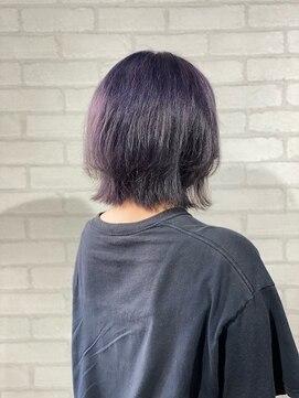 ビスイル 秋葉原店(Vis ill)ウルフカット//ナチュラルウルフ/透明感/ラベンダー