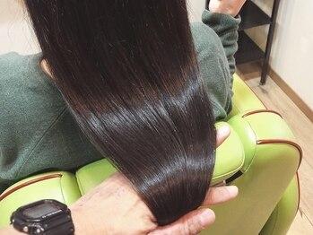 """ヘアー シップス(hair ship+s)の写真/【美しく健康な髪は頭皮ケアから】本気で髪質改善を目指す方に!""""美髪""""を追求した本格ダメージケア◆"""