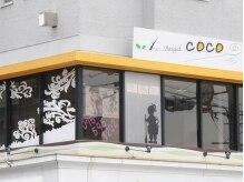 ファーストエンジェルココ(1st Angel COCO)の雰囲気(ステンドガラスがカワイイ♪ビルの2Fにあるサロンです☆)
