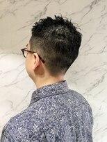 メガネも似合う、30代40代のオトコのシンプル黒髪スタイル☆