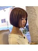 ヘアーエスクール 本店(hair S.COEUR)小顔ミニボブ