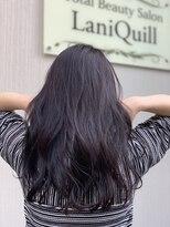 ラニクイール(Lani Quill)ロング×ニュアンス巻き×ブルージュ