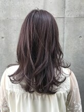 ヘアーライズ 池袋東口店(hair RISE)秋カラーピンクバイオレッド×ローレイヤー