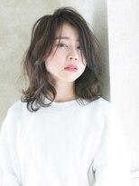 ヘアアンドメイク アリス(hair&make ALICE produce by COLT)ミディアム×スモークアッシュ