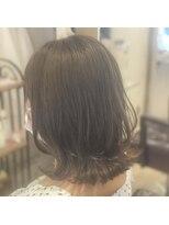 リリー ヘアーデザイン(Lilly hair design)クビレミディ×ミルクティーグレージュ