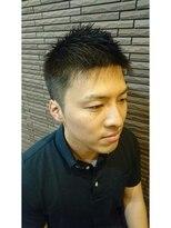 バルビエ グラン 銀座(barbier GRAND)ジェルで簡単爽やかショート<理容室>