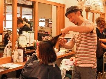 ハフリ美容室の写真/【呉市中通】ショートヘアと言えばハフリ! ベテランスタイリストの《技術力×センス》にリピーター続出