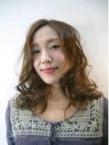 サロン ド クレア(salon de CLEA)シフォンカールセミロング☆
