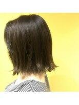 ゴッサムヘアー(Gotham Hair)切りっぱなしオリーブベージュ