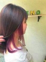 ヘアーメイク アフィーノ(hair make affino)pink violet