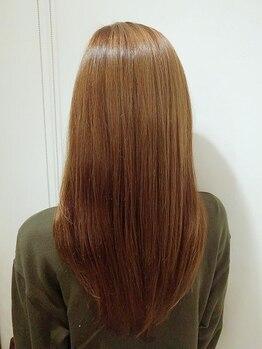 ヘアルシェーヌ ルミエール(hair le chene lumiere)の写真/【白山×横江★】県内でも希少な<フローディア>をご用意!手触り◎まとまり◎のうるツヤ美髪へ!