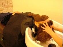 ヘア ヴィーヴル 田宮店(Hair BIVRE)の雰囲気(寝たままで施術できるYUMEシャンプー台)
