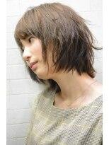 アトリエ ドングリ(Atelier Donguri)『髪質改善』airy short bob